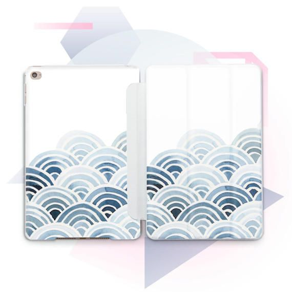 iPad Air Case iPad cas vagues iPad Pro étui iPad Air 2 cas