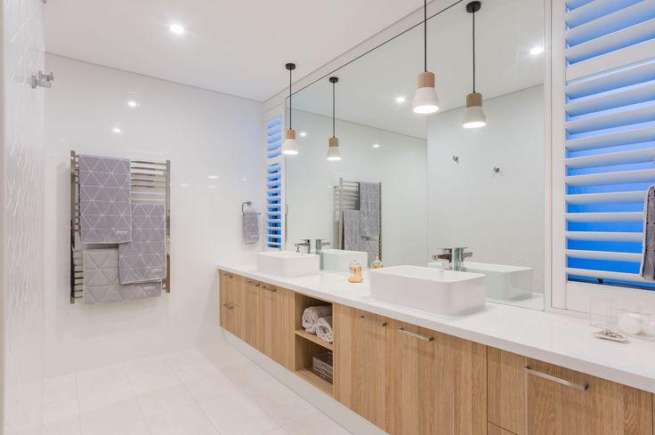 Scandinavian Bathroom in our Merlot Display Home