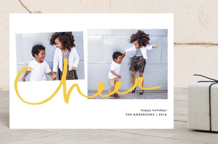 Cheer for Two by Tyler Tea at minted.com