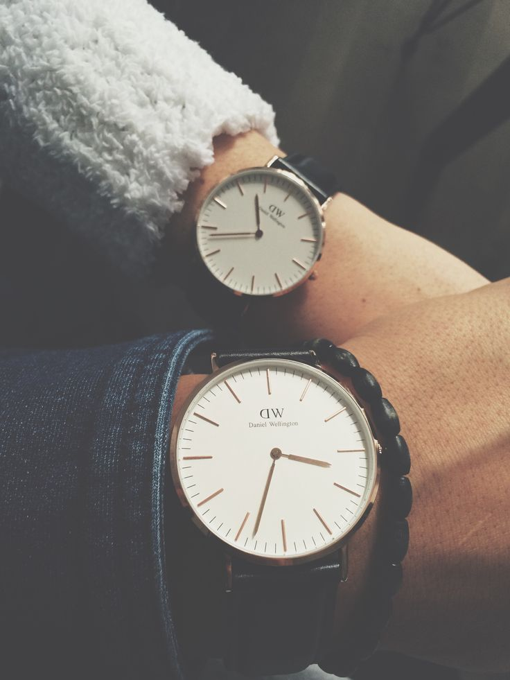 Saint Valentine's with Daniel Wellington