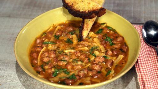 Pasta E Fagolie Soup: Mario Batali