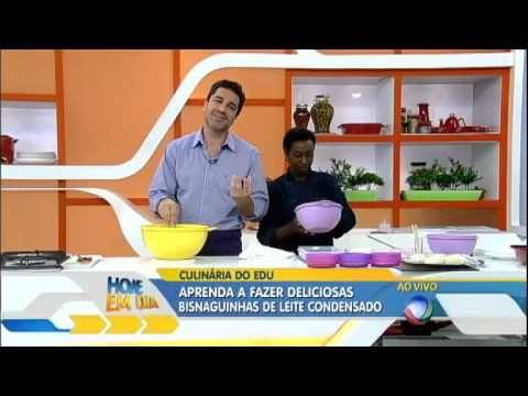 Edu Guedes ensina a fazer deliciosas bisnaguinhas de leite condensado - YouTube