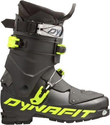 Dynafit Men's TLT Speedfit Alpine Touring Ski Boots Black/Yellow Mondo 2