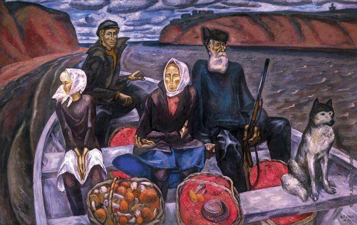 Попков Виктор Ефимович [1932—1974] Сентябрь на Мезени. 1969—1970