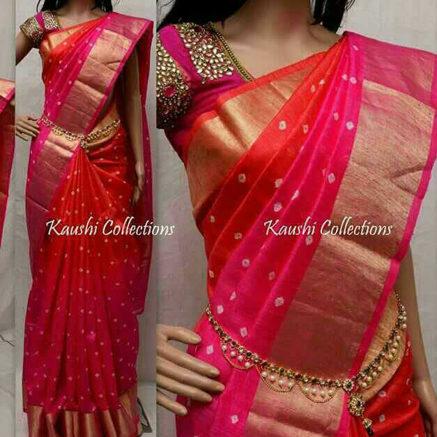 Full buties saree,  pure uppada silk (pattu)