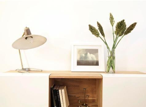 Mash Studios LAX Wall-Mounted Shelf