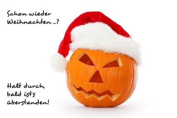 """Weihnachtsmuffelkarte """"Kürbis"""""""