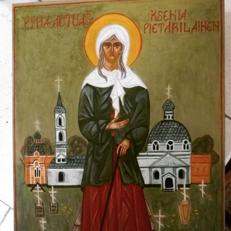 Saint Ksenia Petersburg