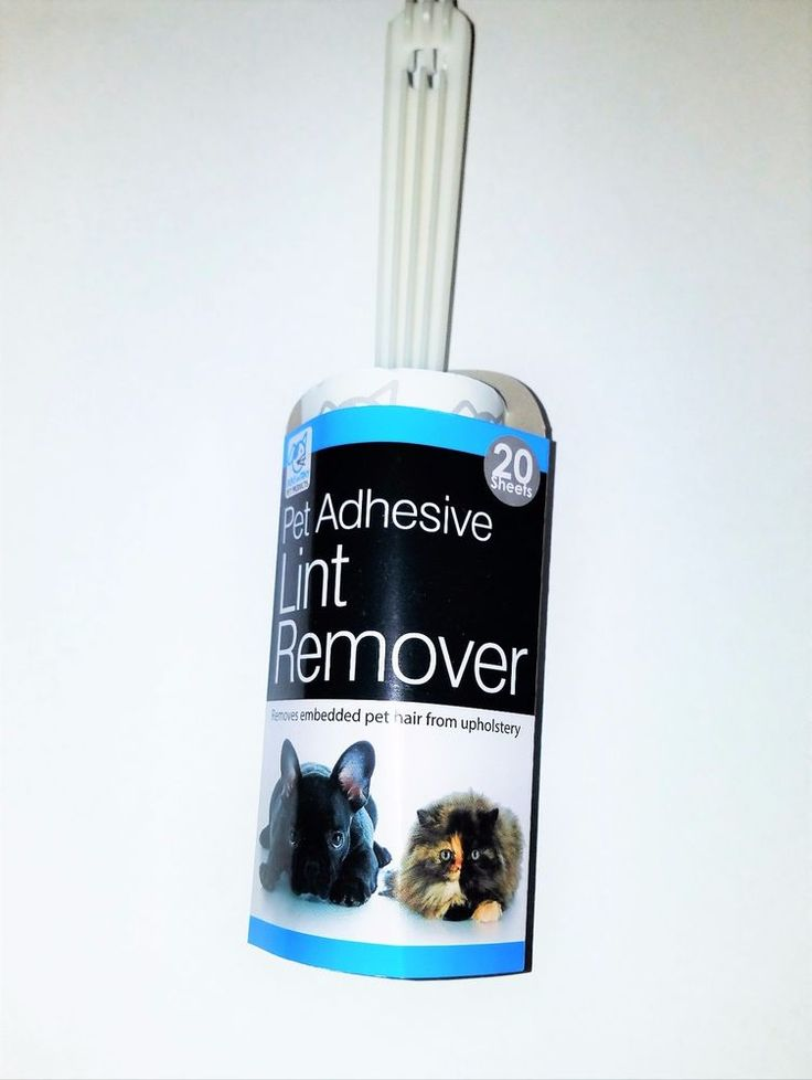 Pet Adhesive Lint Remover Upholstery Hair Dust Clothes Roller 20 Sheets Fur  #DUKEANDTINY