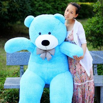 Buy Sky Blue Stuffed Animal Teddy Bear Plush Soft Toy 80CM Huge Soft Toy online at Lazada. Discount prices and promotional sale on all. Free Shipping.