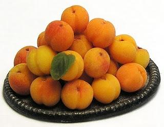 Miniature peaches ~ Kiva Atkinson