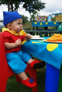 SUPER CELEBRATIONS: Noddy Party 1st Birthday