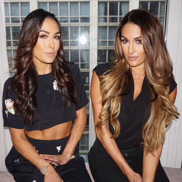 Happy 32nd Birthday, Nikki and Brie Bella—Celebrate With the WWE Divas' Sexiest and Sultriest Pics!  Nikki Bella, Instagram