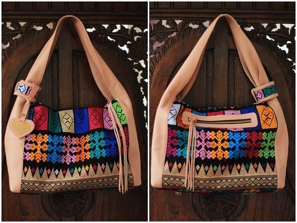 songket bali sling bag
