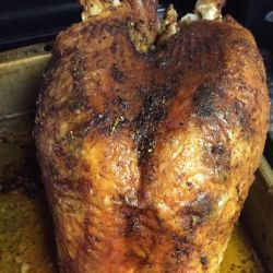 Roasted turkey crown