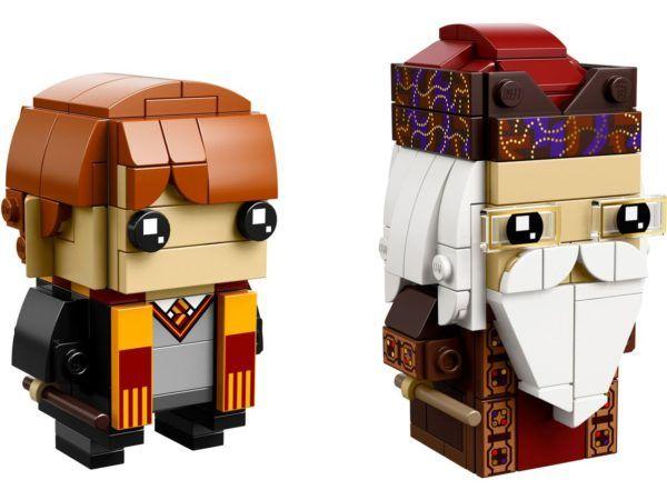 Lego Brickheadz 41621 Ron Weasley Und Albus Dumbledore Mein Baustein De Harry Potter Ron Weasley Ron Weasley Harry Potter Ron