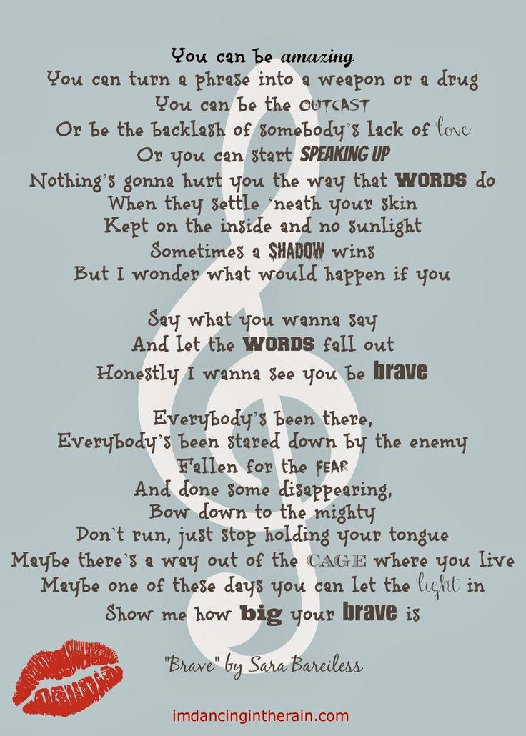 Lyrics: Dancing In The Rain: One Word For 2014