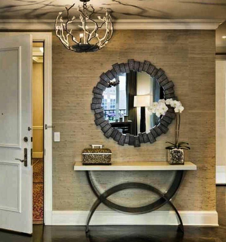Jetton Furniture Hol Dekorasyonu Pinterest'te | Fuayeler, Konsollar ve Holler hakkında ...
