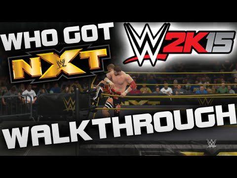 WWE 2K15 Who Got NXT Gameplay Walkthrough Part 1 – SAMI ZAYN vs. Cesaro (WWE 2K15 Gameplay)