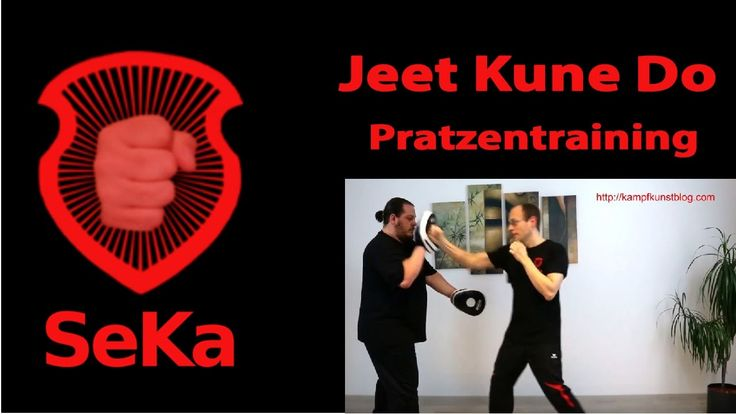 Jeet Kune Do Pratzentraining (Trainingseinblick)