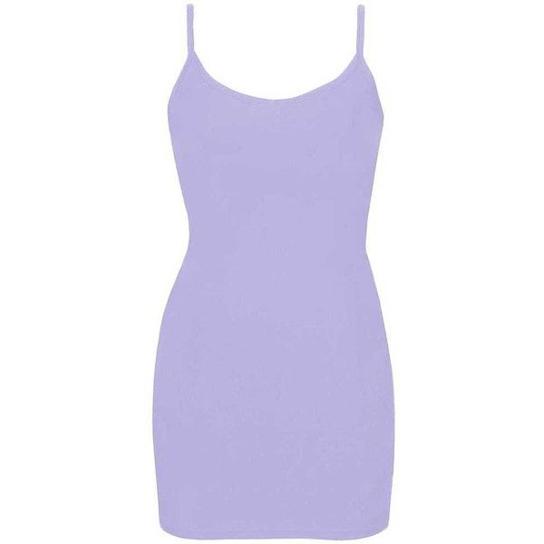 BKE Extra Long & Lean Tank Top - Purple X-Small ($5) ❤ liked on Polyvore featuring tops, dresses and purple