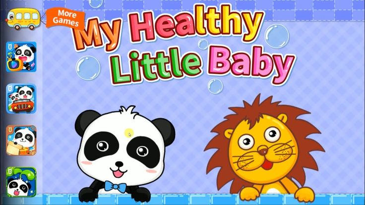 My Healthy Little Baby | Learn  Brush Teeth, Wash Hands And Scrub The Bo...