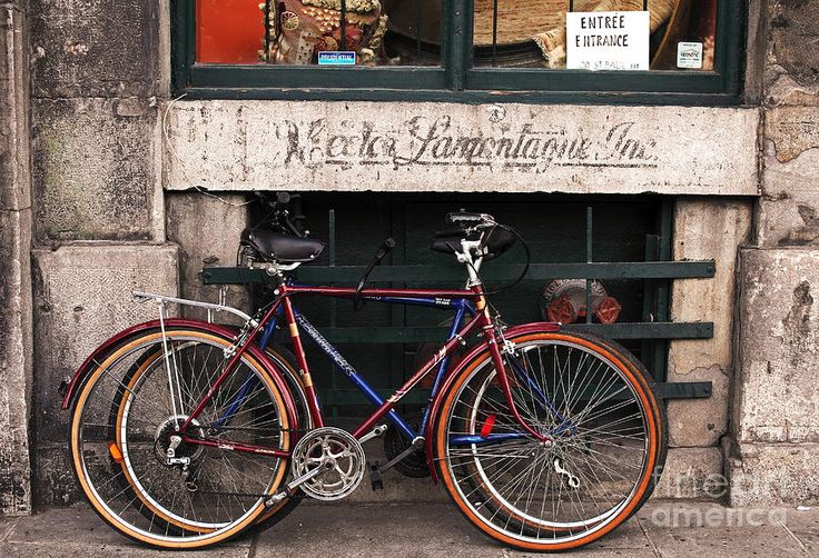 Bikes In Old Montreal Photograph by John Rizzuto