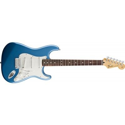 Mexican Fender Stratocaster Lake Placid Blue but with a maple fretboard. Would make a brilliant replacement for my extra noisy Squier SSS.