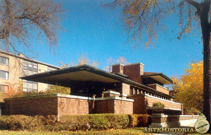 Casa Robie (Oak Park, Chicago) - Obra - ARTEHISTORIA V2