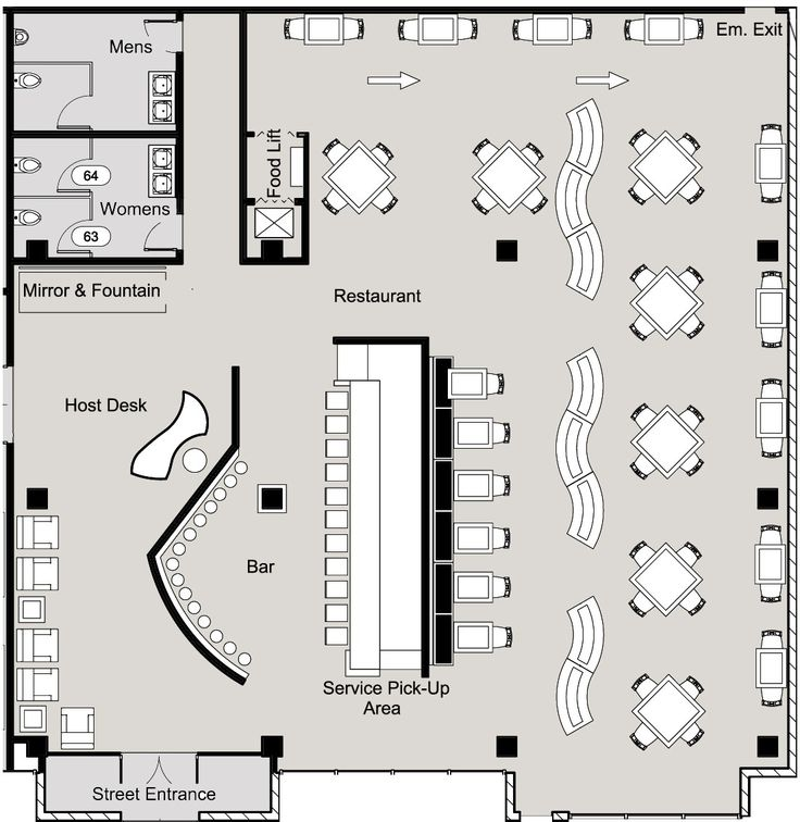 25 best ideas about small restaurants on pinterest - Small restaurant floor plan design ...