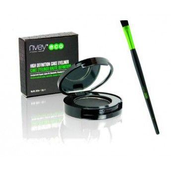 Pack para disfrutar del cómodo eyeliner en polvo y el pincel para un fácil trazado http://belleza.tutunca.es/pack-nvey-eco-eyeliner-y-pincel