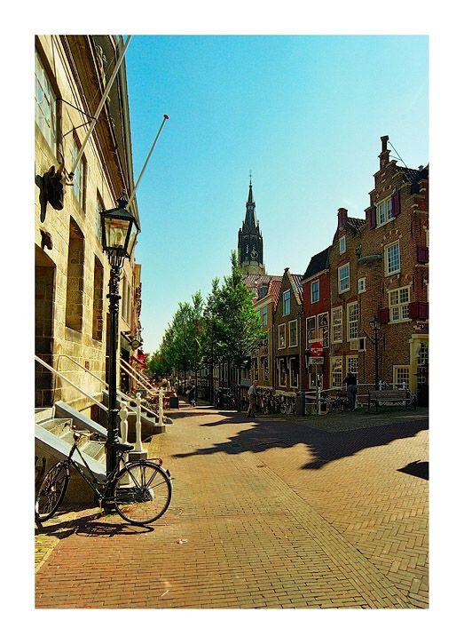Streets of Delft - Delft, Zuid Holland - Koornbeurs.