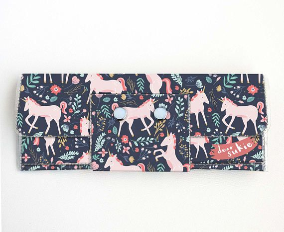 Check out this item in my Etsy shop https://www.etsy.com/ca/listing/522097443/vinyl-long-wallet-unicorn-forest-vegan