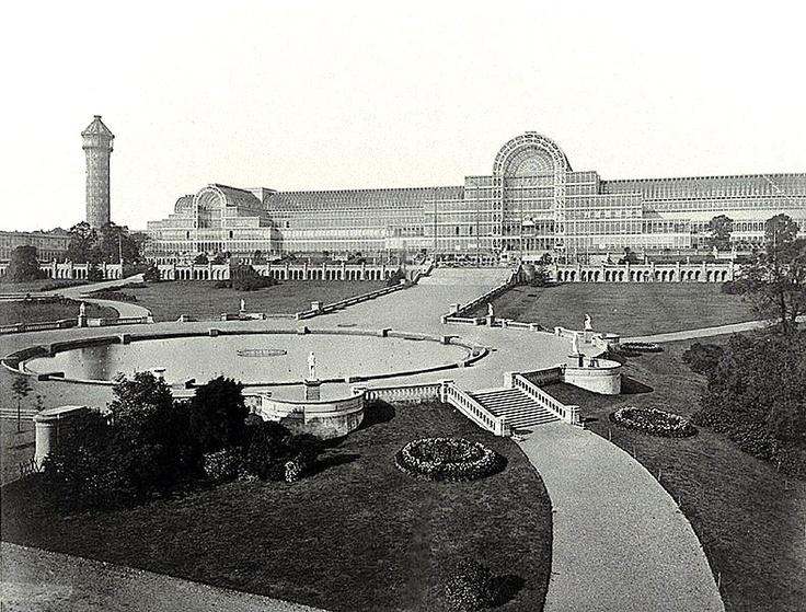 Joseph Paxton, Crystal Palace, London, England, 1851
