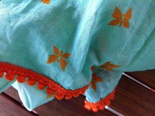 ZOTS: bazar fantasma: Pañuelo verde y naranja