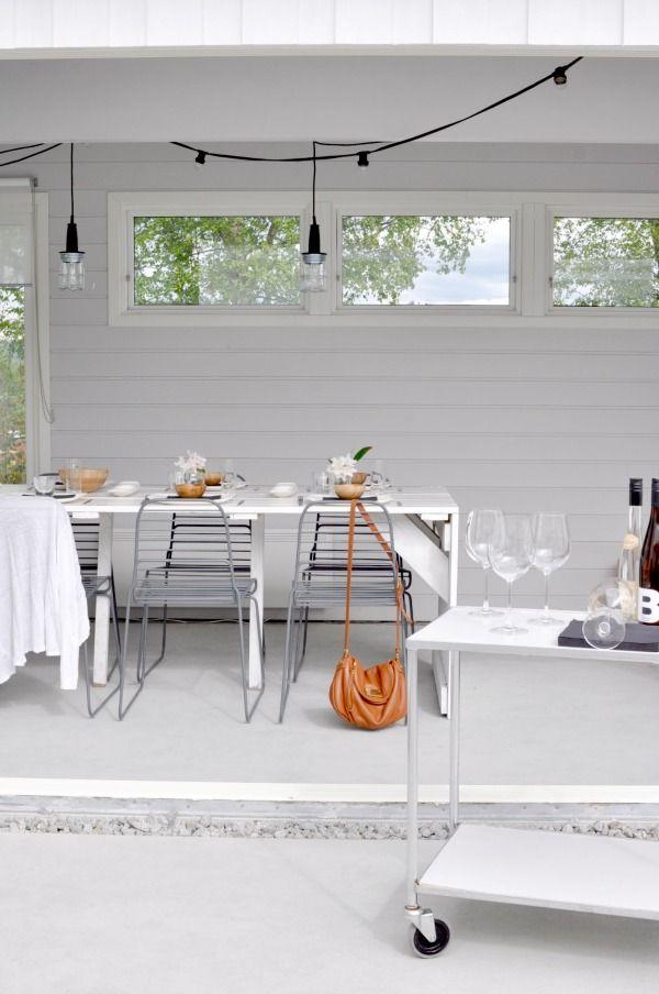 Festlig lag med bordekkingstips backyard inspiration grey interior party gardenparty