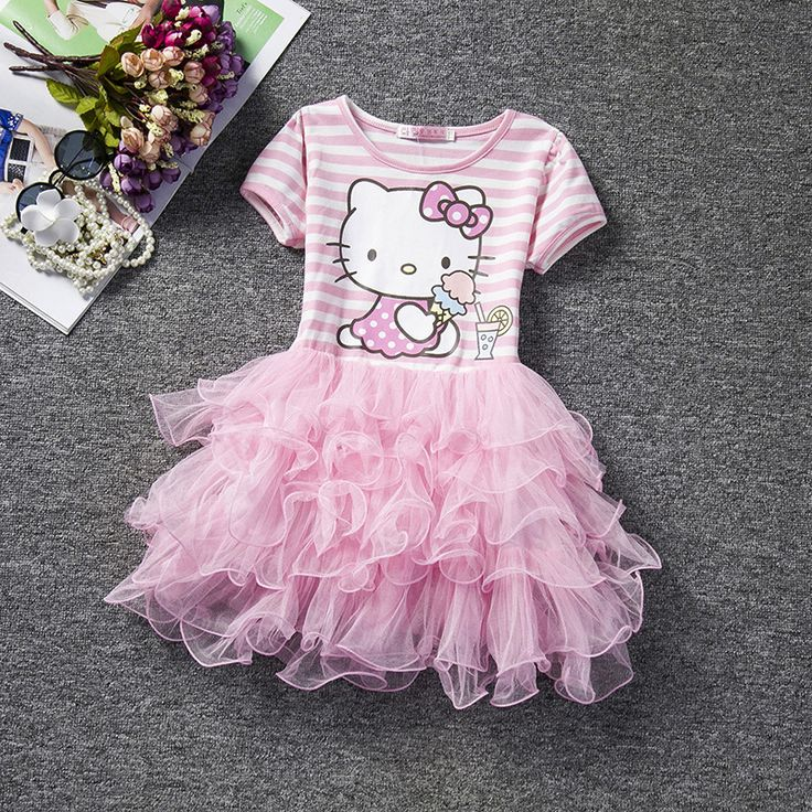 >> Click to Buy << Retail Wholesale Free Shipping toddler's Little Girl's Lace Party Dress Casual Wear Summer Style Pink Ivory Pearls Beaded Dress #Affiliate