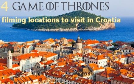 The hit Emmy nominated television show Game of Thrones used some of Croatia's' many amazing landmarks and locations to depict the fictional land of Westeros.