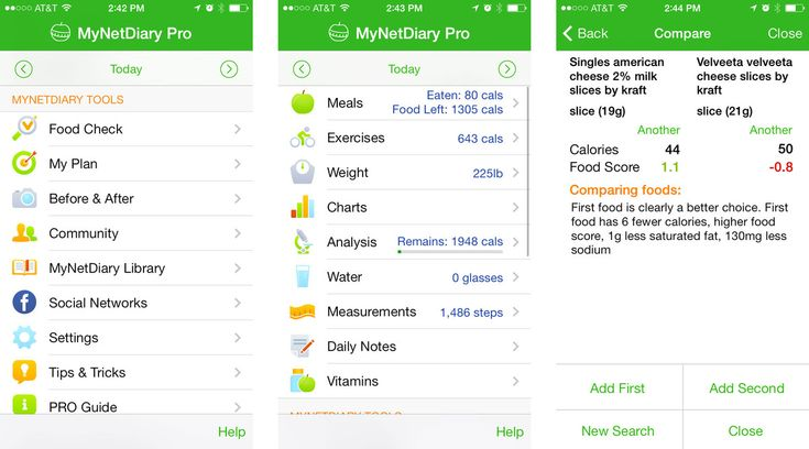 diet plan apps for iphone