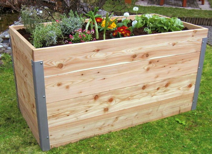 Hochbeet Selber Bauen So Geht S Selbermachen De Bauen Container Gardening Con In 2020 Pallet Projects Garden Backyard Landscaping Designs Gardening For Beginners