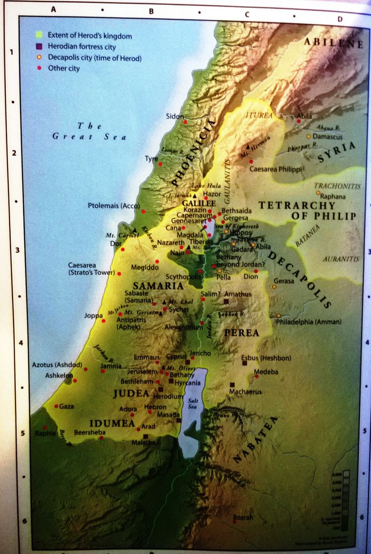 Maps Cards 39 best Maps of Biblical