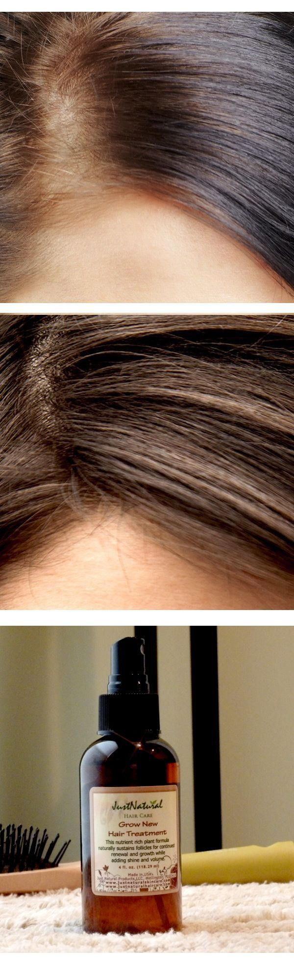This stuff help grow my hair back from stress related hair loss. It is very light and smells good. I massage it into my scalp after washing it. It makes my hair silky smooth. I didn't notice much difference at first but after 4 months, there is significant amount of hair with length at the hairline area where I'd lost a lot of hair. I use a small amount a couple of times a week and have had good results.