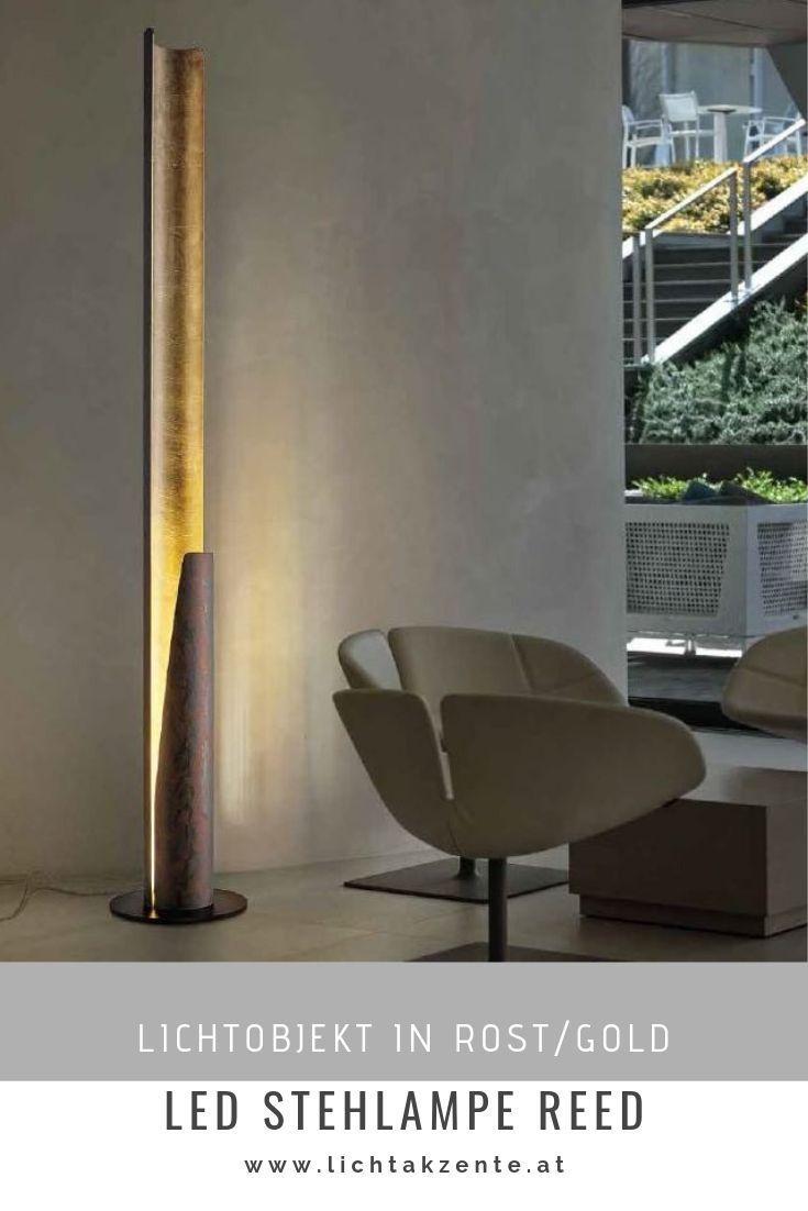 Braga Led Stehleuchte Reed Stehlampe Wohnzimmer Moderne