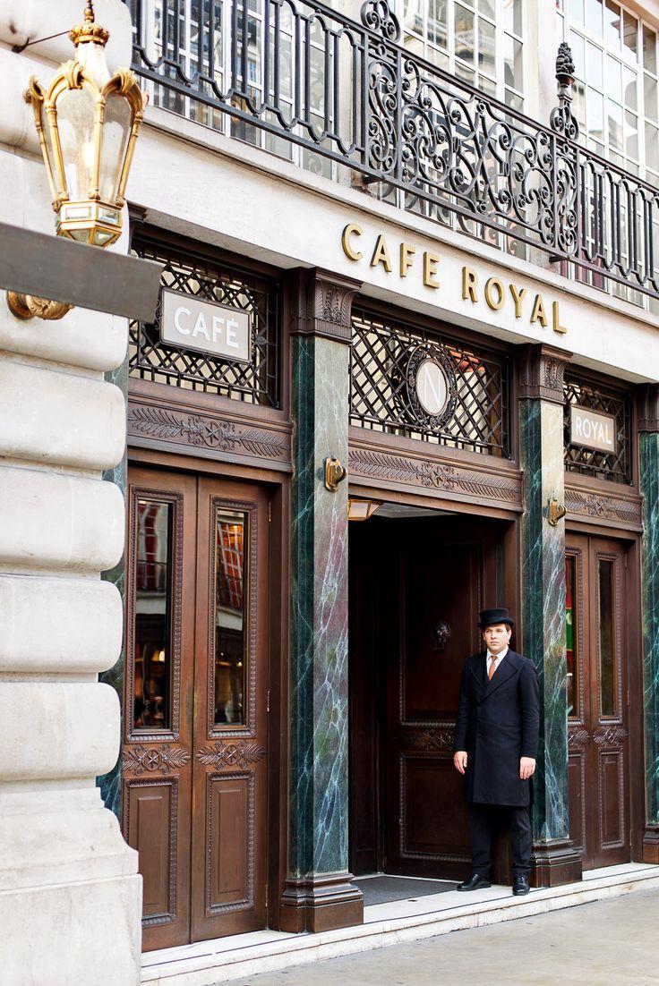 Afternoon Tea at Hotel Cafe Royal, Regent Street, London