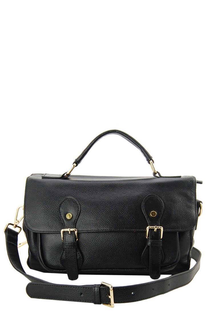 Jane Ellen Tristan Leather Messenger Bag by Erica Anenberg on @nordstrom_rack