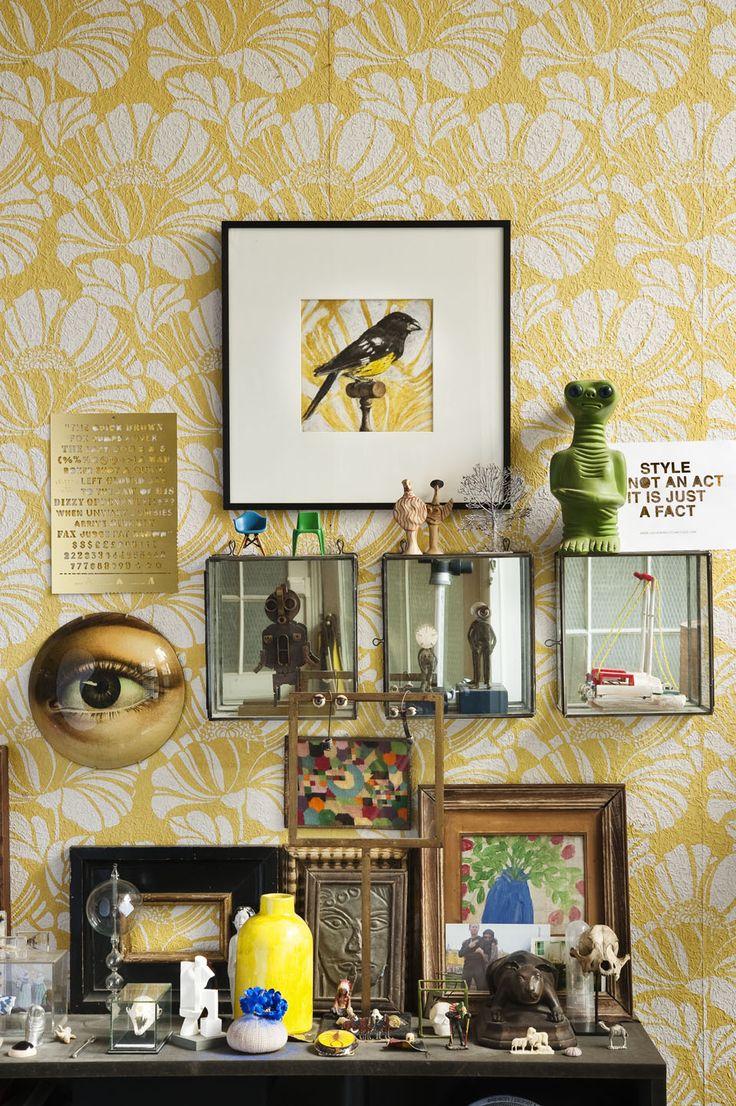 Eugénie Collet intérieur - Cabinet de curiosité - Via Milk Decoration