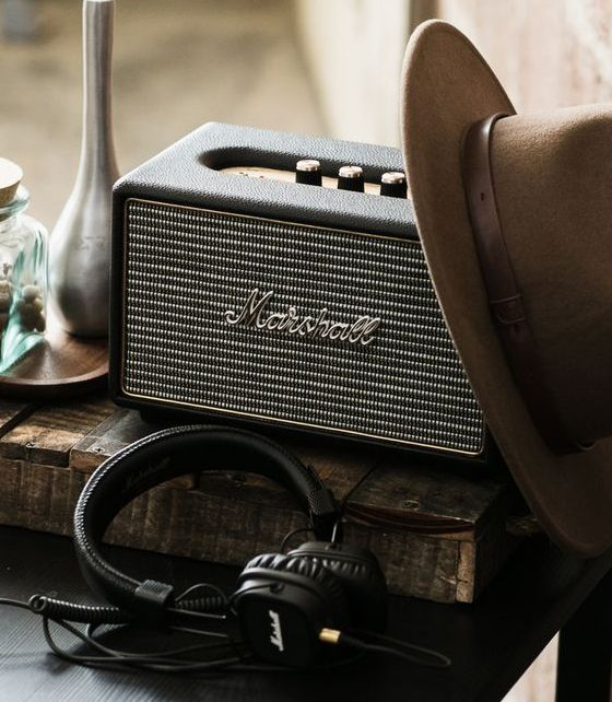Marshall Stockwell/Kilburn/Stanmore/Woburn Speakers. Marshall Major II, Monitor and Major II Bluetooth Headphones. Available now!