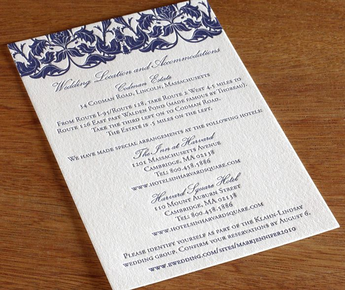 Accommodation Cards For Wedding Invitations: 1000+ Ideas About Accommodations Card On Pinterest