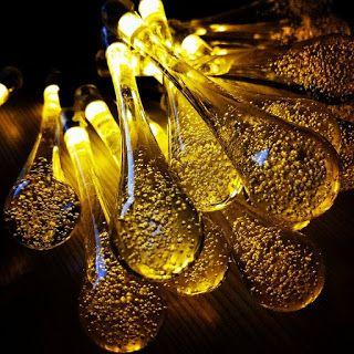Blog di Recensioni Prodotti e Utili Consigli | Darcy's Reviews: Luci LED Forma Goccia Bolla Cristallo Strisce Led ...