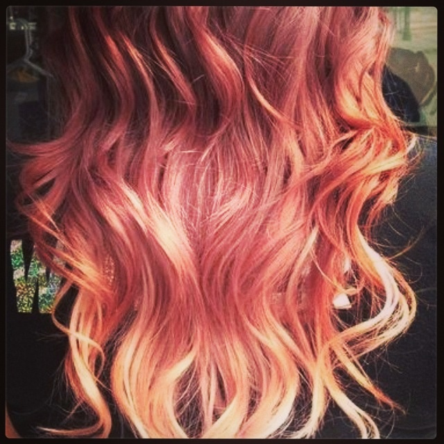 This is the color hair I want. Honey blonde, anyone?